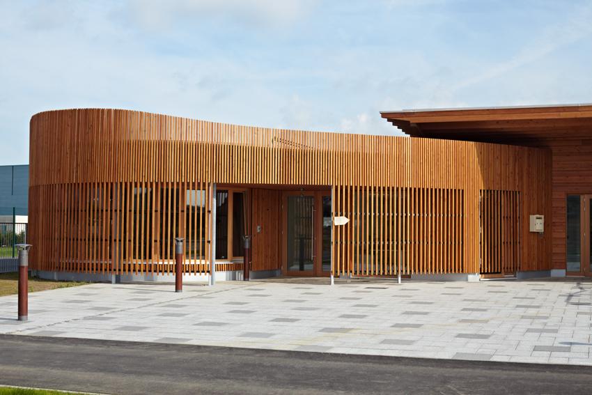 bâtiment à ossature bois